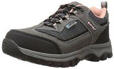 HI-TEC Kids 31463 Hillside Low Waterproof Hiking Shoe Charcoal/blush J13