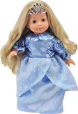 259645-1 Dimian Puppe mit Sprachfunktion und Schlafaugen Ice Princess
