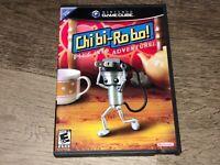 Chibi-Robo Nintendo Gamecube Complete CIB Authentic