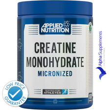 Nutrición aplicada monohidrato de creatina micronizado Poweder 500g (100 Serv.) |! nuevo!