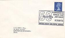 (33162) Gioco GB copertura Kings TAZZA AIR RACE-bfps 1289 15 LUGLIO 1972