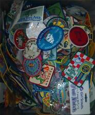Girl Scout PATCH Grab Bag 1 bid gets you 5 Historic Patches BARGAIN!