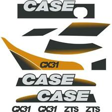 Case CX31 ZTS Decals Stickers Kit Repro set