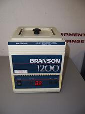 "9140 BRANSON 1200 B1200R-3 ULTRASONIC TANK W/ LID 4 x 4.25 x 5.75"" TANK"