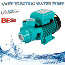 Long Runing 12 Hp 3450 Rpm Electric Water Pump Pool Farm Pond Home Tool New