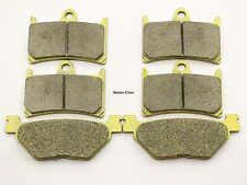 Front Rear Brake Pads For Yamaha XV 1700 Road Star Midnight Warrior 2002-2009 6S