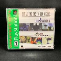 Final Fantasy Chronicles [Greatest Hits] (PlayStation 1/PSX / PS1) Brand New