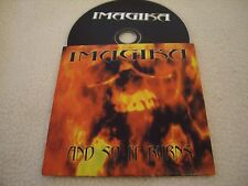 IMAGIKA - And so it Burns Promo-CD Massacre Records 2000