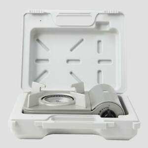 MUJI Portable cooking gas stove with Case Set small MoMA from Japan