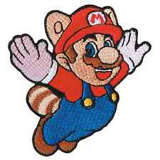 Super Mario Mushroom Flying Kid Game Patch Nintendo Cartoon Embroidered Iron On