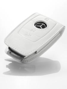 Genuine Mercedes Benz key sleeve/wallet B66958413 White