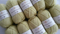500 g ROWAN pure wool superwash dk Fb. 115 lemon grass Wolle Wollpaket