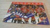 1996 Florida Panthers Team-Issued Calendar -  NHL Hockey - NR-MT