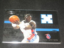 BEN WALLACE PISTONS LEGEND CERTIFIED AUTHENTIC GAME USED NBA JERSEY CARD