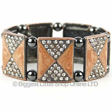 NEUF pour femmes magnétique hématite bracelet joli magnétothérapie GRATUIT