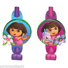 DORA THE EXPLORER PARTY SUPPLIES DORA PARTY BLOWOUTS PACK OF 8