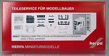 Herpa LKW 083973  Fahrerhaus MAN TGS LX Euro 6 mit WLB & Dachspoiler  2 Stk.