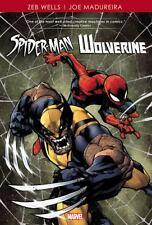 Spider-Man/Wolverine by Zeb Wells & Joe Madureira (2013, Hardcover)