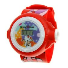 Reloj HELLO KITTYCON LUZ PROYECTORA watch montre Armbanduhr  A1746