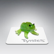 RIB Frog animal TYNIES Tiny Glass Figure Figurines Collectibles NEW 003