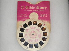 Viewmaster The Birth Of The Savior A Bible Story Sawyer's 1947 CH 6A