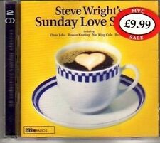 (CJ712) Steve Wright's Sunday Love Songs, 38 tracks various artists - 2000 CD