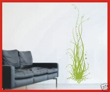 Design Plant Fern Grass 105cm Wall Stickers Wall Decals Circles Balls Deco E6