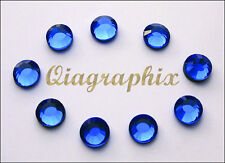 3x 288 Pcs (6 gross) DMC Iron On Hotfix Crystal Rhinestones Sapphire SS30, SS30B