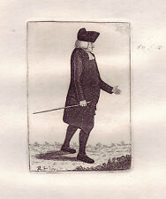 John Kay Original Antigua Grabado. el reverendo William Robertson, D.d..., 1785