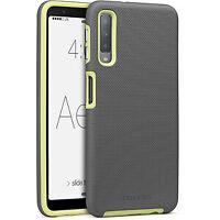 Cellairis Aero Case for Samsung Galaxy A7 (2018) - Aero Grip Gunmetal