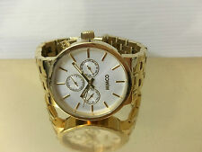 Mimco Sportivo Gold Watch Jewellery Brand New RRP $279