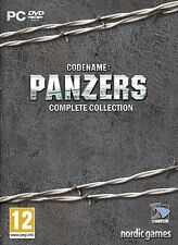 Codename - Panzers Complete Collection For PC (New & Sealed)