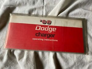 Other Manuals Literature For 1968 Dodge Charger For Sale Ebay