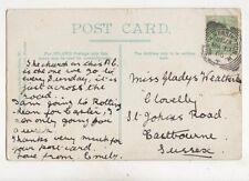 North Kensington W [4] 19 Mar 1906 Squared Circle Postmark 405b