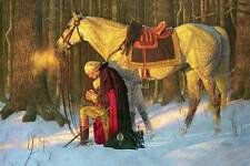George Washington Prayer at Valley Forge by Friberg