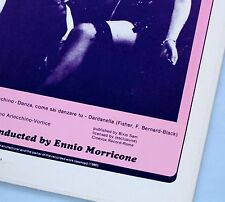 ORIGINAL PRESSING ENNIO MORRICONE MASTERPIECE THE DiVINE NYMPH VINYL LP RARE