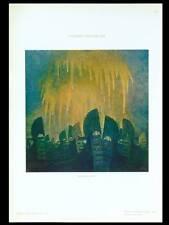 L'ARBRE MERVEILLEUX - 1910 - PHOTOLITHOGRAPHIE, GUIDO MARUSSIG, GONDOLES VENISE