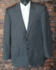 Jos A Bank Signature Collection (42L) Mens Gray Wool 2 Button Blazer Sport Coat
