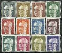 Berlin 1970 Mi. 359-370 MNH 100% President