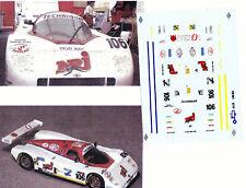 Decals 1/43e ALD n°106 Le Mans 1990