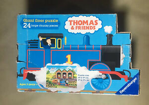 THOMAS & FRIENDS - Ravensburger 24 Piece Giant Floor Puzzle. Ages 3 Years +