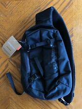 NWT Patagonia Atom 8L Sling Bag BLACK Hiking Trails Outdoors Backpack NR !!!