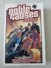 NOBLE CAUSES ARCHIVES Volume 1 TPB COLLECTION JAY FAERBER IMAGE COMICS 598 pages