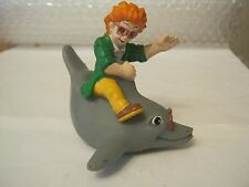 Burger King Meals Water Mates IQ Dolphin, 1990, Rubber  (010-13)