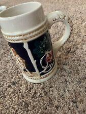 Vtg made in occupied japan mug Men Grapes
