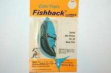 old eddie pope's pope fishback lures approx 3/8oz green scale fb418 crankbait