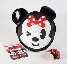 Disney London Soho Minnie Mouse Emoji Coin Change Purse New+ tsum tsum key ring