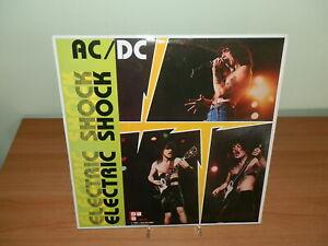 AC/DC ELECTRIC SHOCK PRIMA STAMPA ORIGINALE RARO 2 LP VINILE USATO SICURO