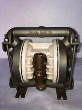 "Wilden M2 1"" Inlet and 3/4"" Outlet SS 316 Double Diaphragm Pump W/ Teflon Diap."