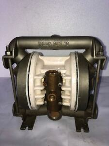 "Wilden M2 1"" Inlet and 3/4"" Outlet SS 316 Double Diaphragm Pump W/ Teflon Diap."